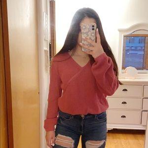 Pink Hollister Sweater